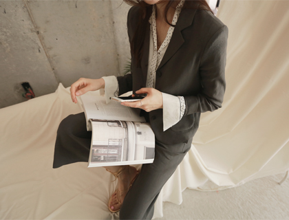 Magazine linen jacket (50% sale)