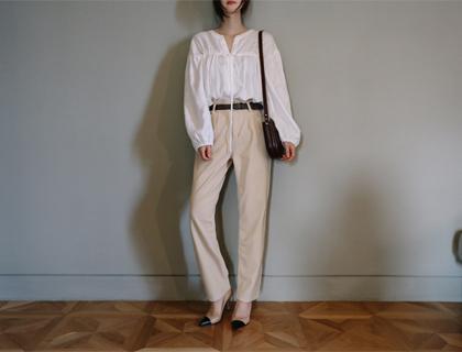 Corduroy-tong pants