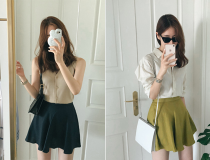 Freesia mini skirt