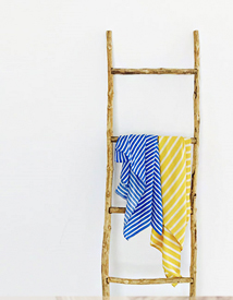 Marin stripe scarf