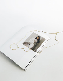 Element ring necklace