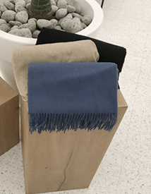 Wool modern muffler