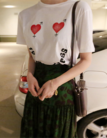 Together heart tee