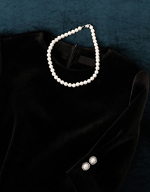 Hepburn jinju necklace