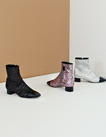 Glitter ankle boots ♩