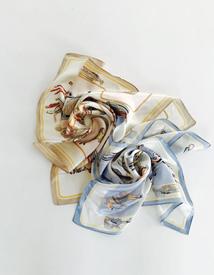 Kelly silk scarf