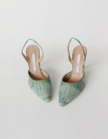 18144 jacquard sandal ♩