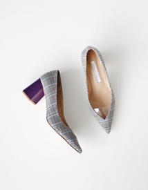 18220 check heel ♩