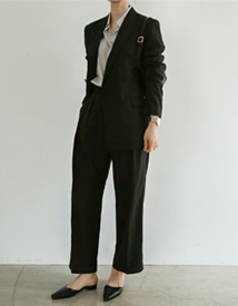 Martin tuck pants