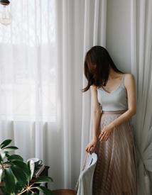 Mell-linen sleeveless