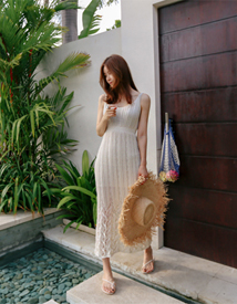 Scasi knit dress