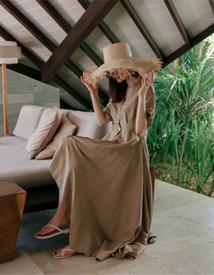 Fancy linen dress