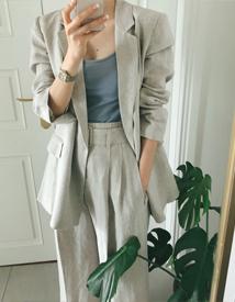 Lark linen jacket