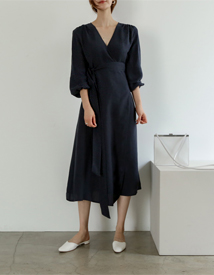 Posen linen dress
