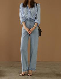 Dilemma frill blouse