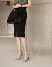 Melting H-slit skirt
