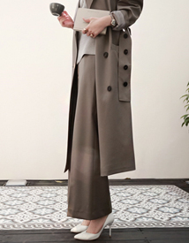 Business wide pants