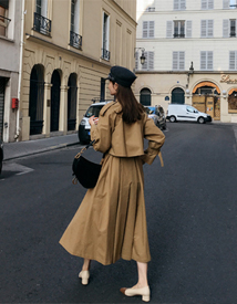 Serena trench coat
