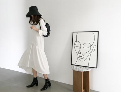 Unbal long dress