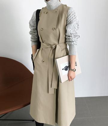 Vivian trench coat