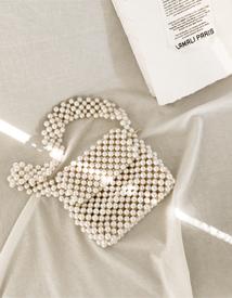 Pearl beading bag