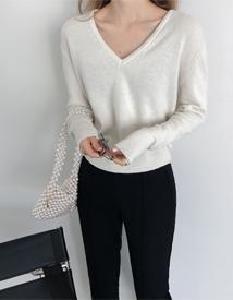Roana v-neck knit