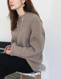 Moore round knit