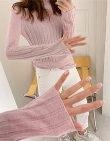 Whole pola knit