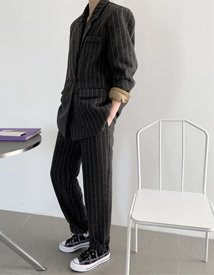 JilSan herringbone pants