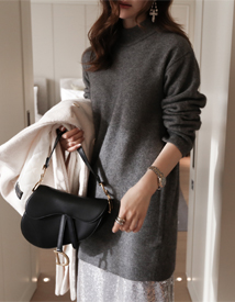Raccoon long knit