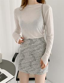 Gabriel tweed skirt