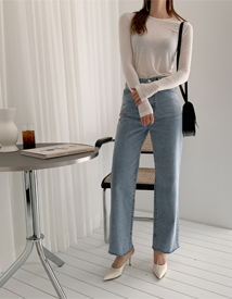 Alita straight denim