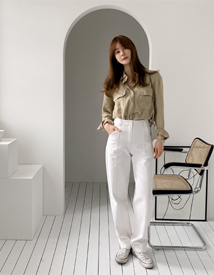 Locle stitch pants