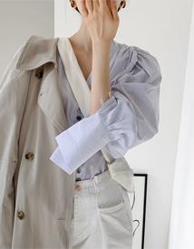 Harper volume blouse