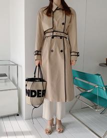 Edge trench coat