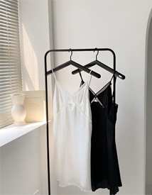 Punching slip dress