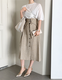 Cica belt skirt