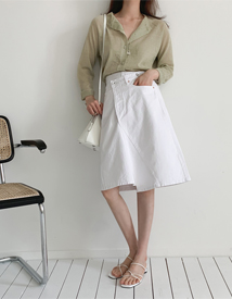 Schuller unbal skirt