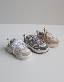 Collabo ugly sneakers
