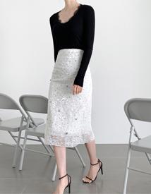 Crystal H-line skirt