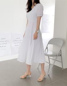 Natalie linen dress