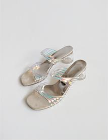 Prism mule sandal ♩