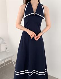 Sailor long dress