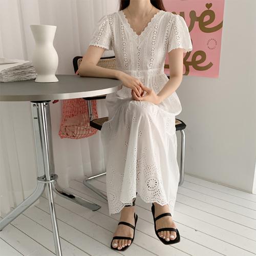 Emilie lace dress