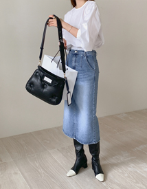 Lillis denim skirt