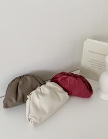 Cowhide pouch bag