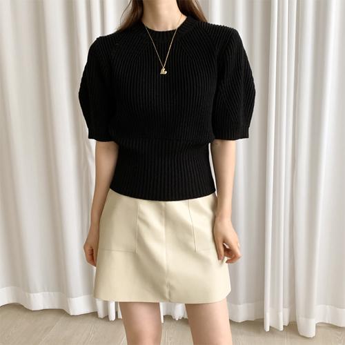 Herasi short sleeve knit