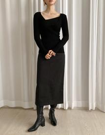 Rowe cotton skirt