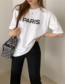 Paris lettering tee