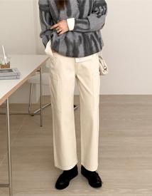 Pocket wide pants